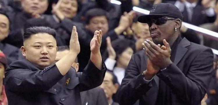 صورة ابن زعيم كوريا الشمالية كيم يونغ اون تدرب مع برشلونة