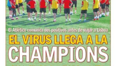 صورة غلاف آس| فيروس كورونا يصل إلى دوري أبطال أوروبا