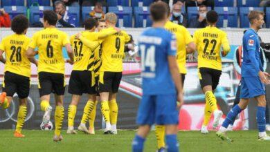 صورة الدوري الألماني   رويس ينقذ دورتموند ولايبزيج يسقط أوجسبورج