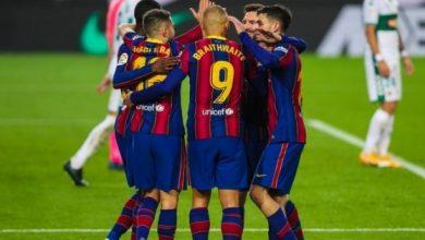 صورة الدوري الاسباني: برشلونة يدك حصون التشي بثلاثية نظيفة