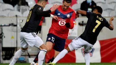 صورة ابرز مجريات مباراة اياكس وليل
