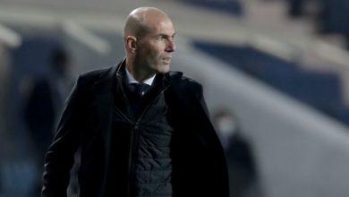 صورة زيدان يعلق على الطرد ويؤكد: ريال مدريد كان سيئاً ضد أتالانتا