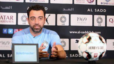 صورة تشافي : العربي تحسن كثيراً وهدفنا الفوز لحسم لقب الدوري
