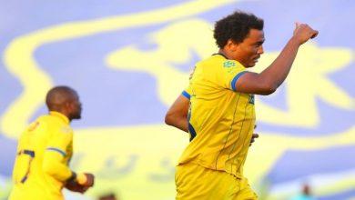 """صورة """"مقصية"""" تاوامبا الأفضل في الجولة 22 من الدوري السعودي.. فيديو"""