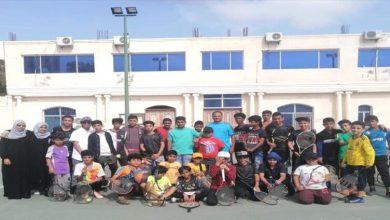 صورة نادي التنس العدني يحتضن منافسات بطولة مدرسة سبأ الــ 12