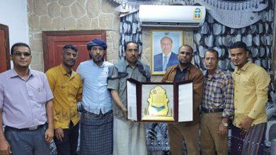 صورة بو عسكر : نقدر مساندة الوزير البكري الداعمة لجهود استعادة أراضي نادينا