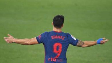 """صورة سواريز متحدياً ريال مدريد.. """"نريد الإنتقام"""""""