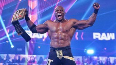 صورة لاشلي ثالث مصارع من أصول أفريقية يفوز باللقب في تاريخ المصارعة