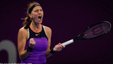 صورة كفيتوفا تحرز لقب بطولة الدوحة الدولية