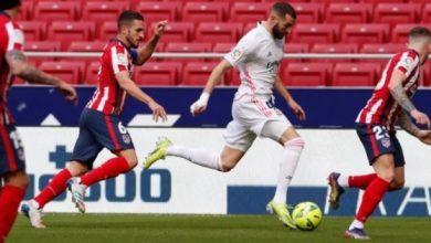صورة هدف بنزيما يلغي هدف سواريز والتعادل يحسم ديربي مدريد