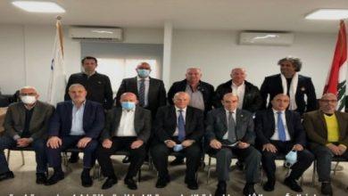 صورة جلخ رئيس اللجنة الاولمبية اللبنانية وتحديد موعد الانتخابات الفرعية