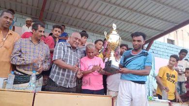 صورة الجيل الصاعد يحرز كأس اليوم الوطني للبيئة في أبين