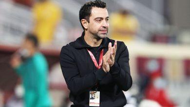 صورة تشافي : سعيد بالفوز وأثبتنا من جديد أننا الأفضل في قطر