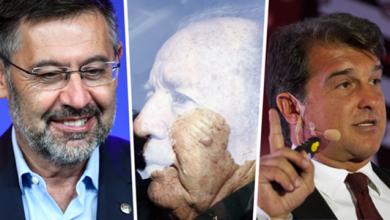 صورة بارتوميو ولابورتا وأنجح رؤساء برشلونة من ناحية الألقاب في التاريخ