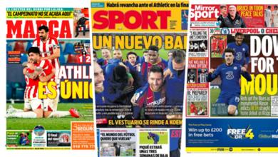 صورة برشلونة الجديد وانهيار ليفربول ..عناوين الصحف 5 مارس 2021