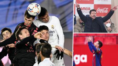 صورة مأساة مدريد وريمونتادا برشلونة .. ظواهر الجولة الـ 25 من الدوري الإسباني