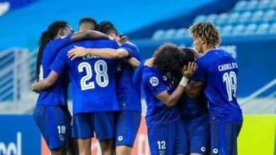 صورة موعد مباراة الهلال السعودي ضد شباب الأهلي دبي اليوم الأحد والقنوات الناقلة