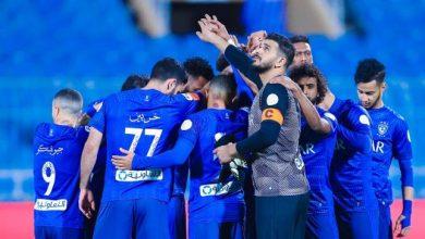 صورة موعد مباراة الهلال السعودي ضد شباب الأهلي دبي القادمة والقنوات الناقلة