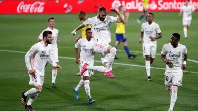 صورة الدوري الإسباني: ريال مدريد يفوز بثلاثية على قادش