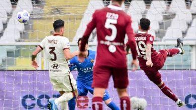 صورة الدوري الإيطالي: هزيمة مفاجئة لروما أمام تورينو