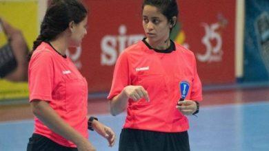 صورة ياسمينا وهايدي السعيد تلمعان في دوري كرة اليد المصري