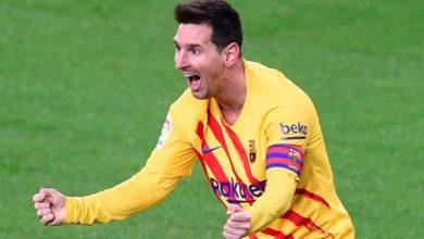 صورة فيديو | هدف ميسي في بلباو، تحفة نهائي كأس ملك اسبانيا 2021
