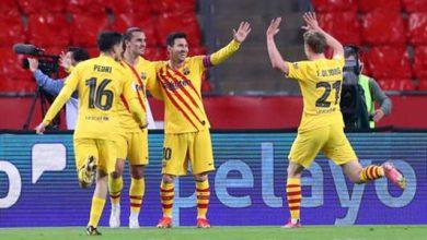 صورة موعد مباراة برشلونة وخيتافي في الدوري الإسباني والقنوات الناقلة