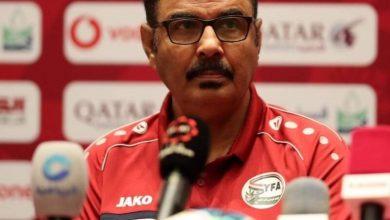 صورة وزير الشباب والرياضة ينعي رحيل المدرب الوطني سامي النعاش