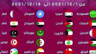 صورة تحديد مواعيد مباريات بطولة كأس العرب