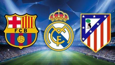 صورة تعرّف على احتمالات الفوز بالليغا في الصراع الثلاثي بين أتلتيكو وريال مدريد وبرشلونة