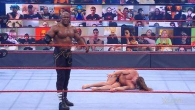 صورة فيديو .. بوبي لاشلي يعاقب مات ريدل على تحديه له