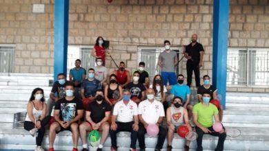 صورة لجنة الشاتل تايم والمدربين في الاتحاد اللبناني للريشة نظمت دورة تدريبية