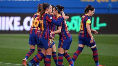صورة سيدات برشلونة يُحققن لقب دوري أبطال أوروبا على حساب تشيلسي