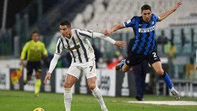 صورة موعد مباراة يوفنتوس وإنتر في الدوري الإيطالي 2021 والقنوات الناقلة