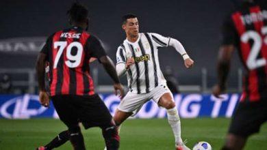 صورة الغائب الحاضر.. رونالدو لم يسدد كرة على مرمى ميلان!