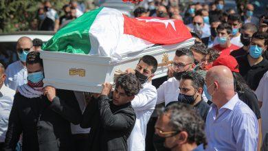 صورة بالصور والفيديو  ..  تشييع جثمان الملاكم الشاب راشد صويصات