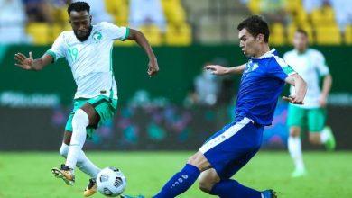 صورة فيديو ملخص مباراة المنتخب السعودي وأوزبكستان مع الأهداف