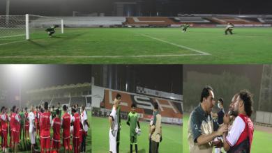صورة الوزير نايف البكري للاعبي المنتخب : عطاءكم ينتظره الوطن