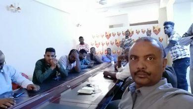 صورة عاجل .. اشتباكات داخل المكتب التنفيذي للمريخ وتهديدات