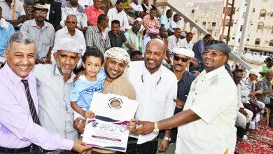 صورة فعالية مميزة وجماهيرية في سنوية الوفاء للفقيد جمال التميمي بالمكلا