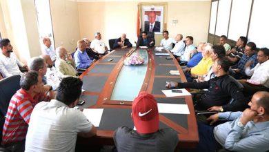 صورة مكتب الشباب والرياضة بتعز يلتقي رؤساء فروع الاتحادات والأندية