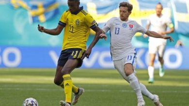 صورة يورو 2020: الشوط الأول ينتهي بالتعادل السلبي بين السويد وسلوفاكيا
