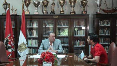 صورة الأهلي يكشف كواليس جلسة الخطيب مع تريزيجيه