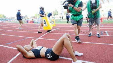 صورة الأميركية فيليكس تضمن مشاركتها الأولمبية الخامسة وغاتلين يخفق في 100 م
