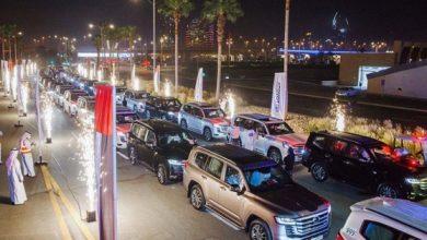 صورة الفطيم تويوتا تنظم استقبالا لأول 50 عميل لسيارة لاند كروزر