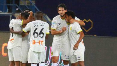 صورة شاهد فيديو اهداف مباراة النصر والاتحاد في الدوري السعودي «قمة مثيرة للغاية»