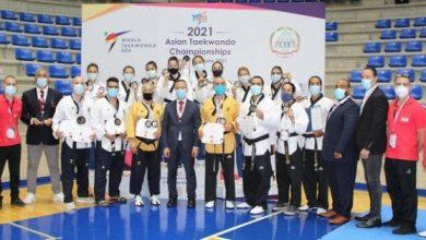 """صورة بطولة آسيا بالتايكواندو """"غلّة""""وفيرة للبنان في اليوم الاول : 13 ميدالية"""