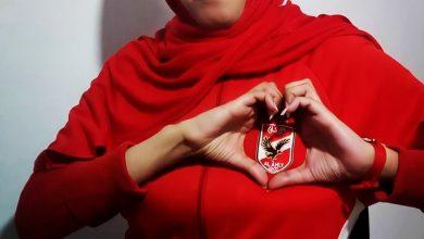 """صورة المصرية هدير لـ""""كورة ناو: الأهلي منبع السعادة ومصدرها"""