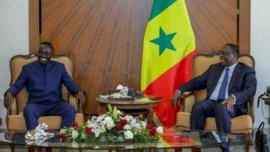 صورة تفاصيل اجتماع ساديو ماني مع رئيس السنغال في القصر الجمهوري