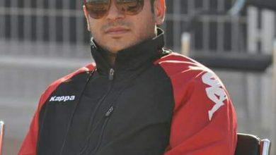 صورة حوار صحفي مع المدرب التونسي أمين بشة